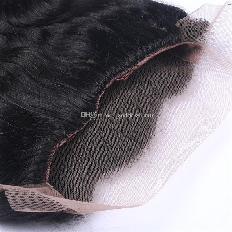 새로운 패션 바디 웨이브 360 전체 레이스 정면 페루 인간의 머리 레이스 정면 표백 된 흑인 여성을위한 360 레이스 밴드 정면 폐쇄
