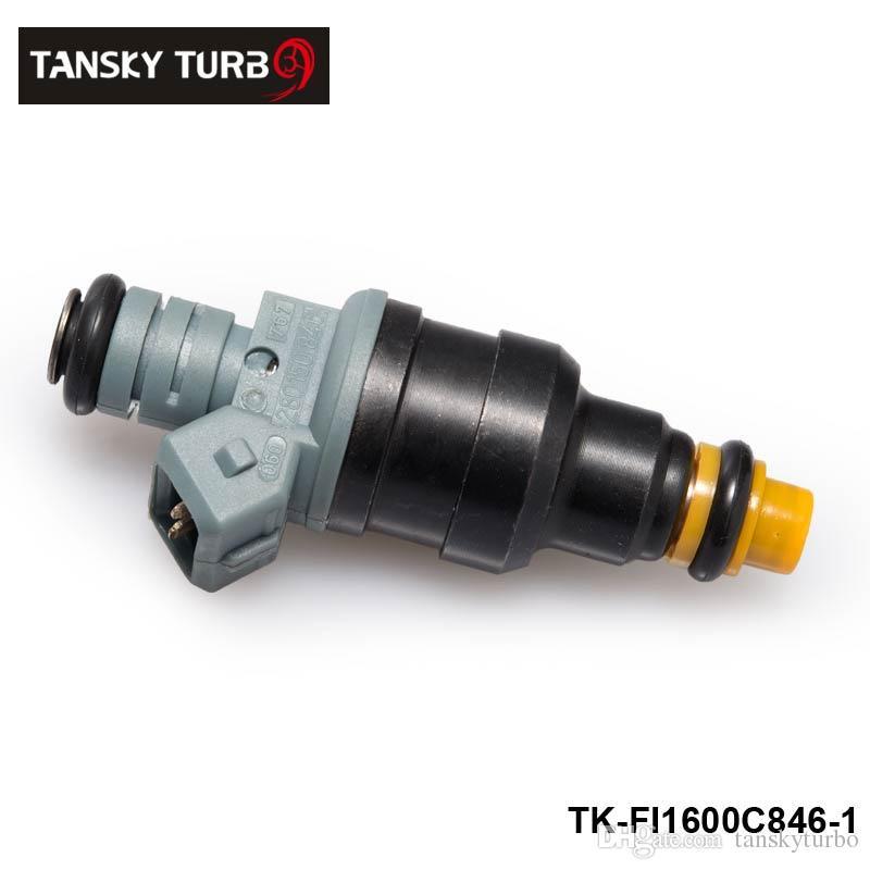 Tansky - 4 unidades Nuevo Alto Rendimiento de baja impedancia 1600cc 160 libras EV1 Top inyectores de combustible OEM: 0280150846 TK-FI1600C846-4