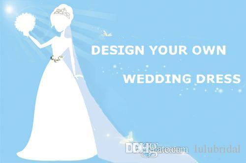 Discount Cusomize Wedding Dress Diy Design Your Own Dream Dress ...