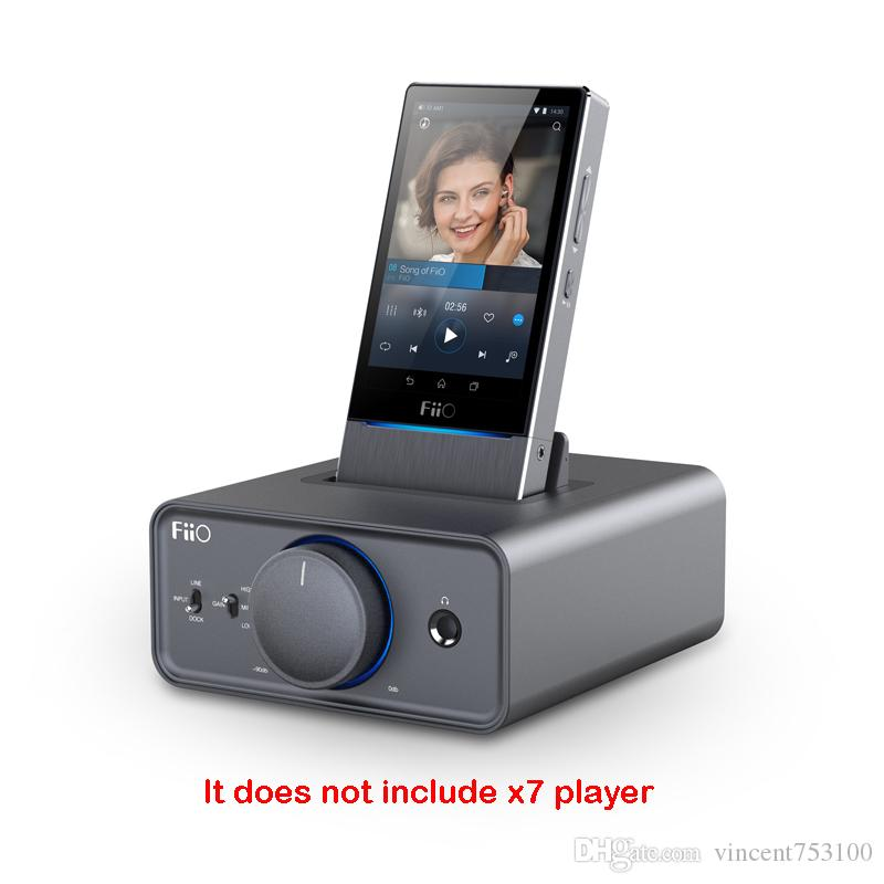 New Hot Fiio desktop amp player k5 For x7 x5 x3 base Recommended Boutique X3II / X5II / X7/ E17K in USB DAC mode