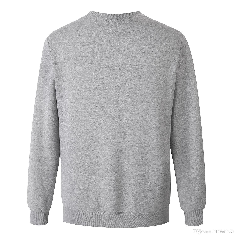 2017 Herbst Winter Männer Hipster Hoodies Hip-Hop-Fleece mit Kapuze Sweatshirt Pullover Tops Mantel Herren Trainingsanzüge