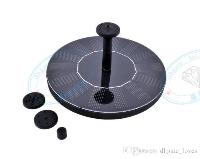 Mini Solar-power Fountain Brushless Pump Energy-saving Plants Watering Kit with Solar Panel for Bird Bath Garden Pond