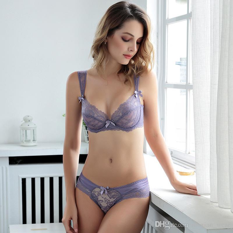 3f7d8e7f8e4 2019 MoXian Hot Salling Bra Suit Lace Bra Sets Slim Transparent Ladies  Underwear Suit Sexy Bra Breathable Underwear Suit LS34608005Z From  Moxian wear