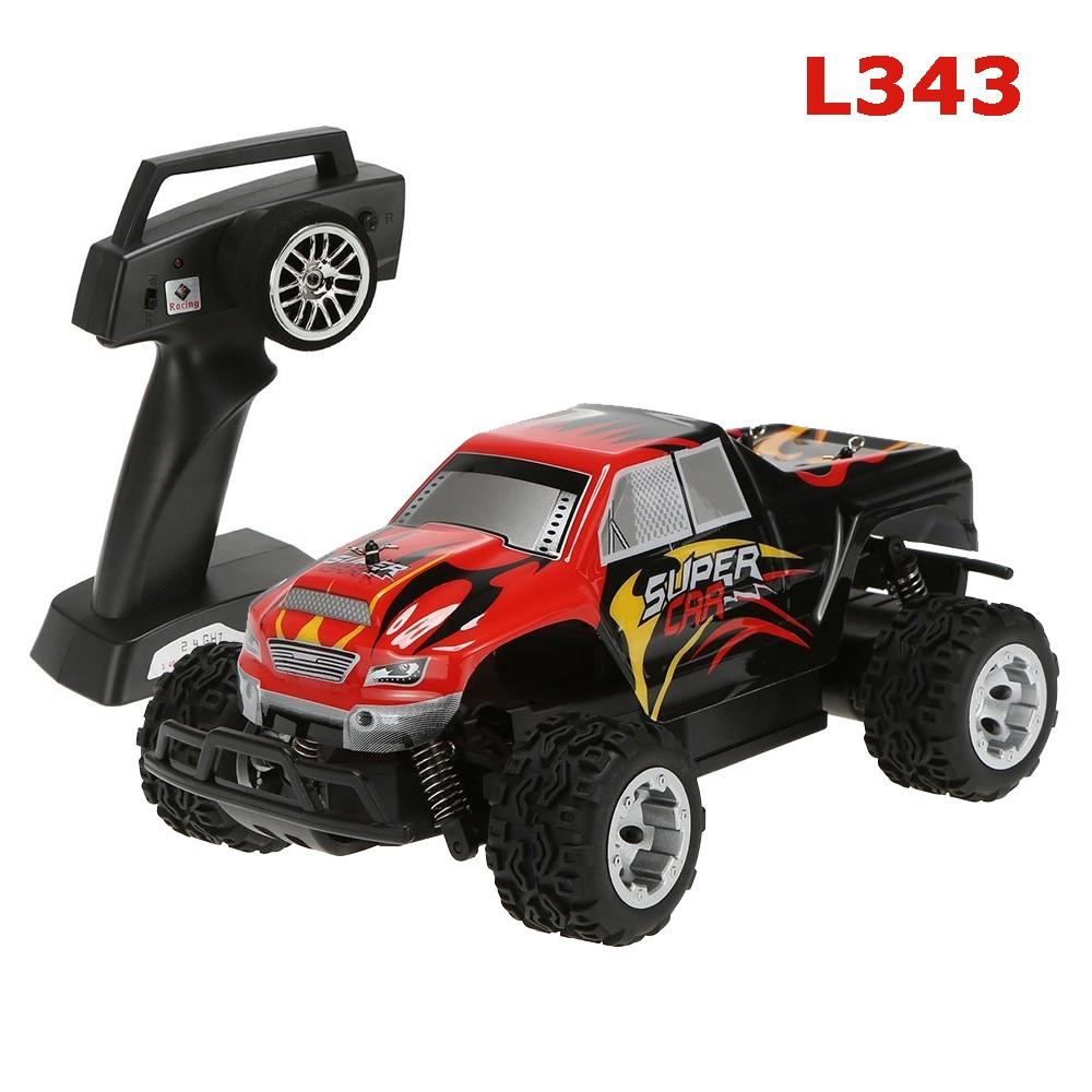 G Electric Wltoys L343 1 24 24g Electric Brushed 2wd Rtr Rc Monster Truck
