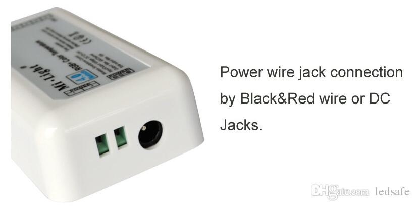 Smart WIFI контроллер Bluetooth 12V 24V RGB / WW / CW 20A Music Sync Control Timmer Mode 16 миллионов цветов для светодиодной гибкой полосы CE ROSH