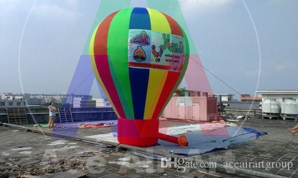globo inflable agradable enorme enorme del arco iris del producto de la promoción para la venta