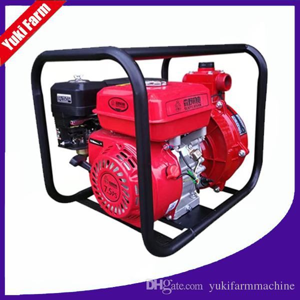Agricultural 7 5HP water pump 4 stroke gasoline water pump farm irrigation  water pump high lift self priming