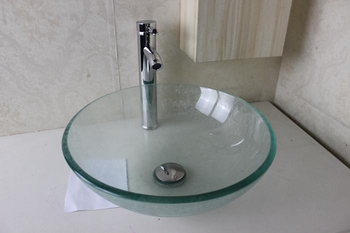 2018 Glass Basin Vanity Bathroom Wash Sink Wash Basin Glass Bowl Glass Sink  Bowl Bathroom Furniture N 717 From Yanruiwei, $98.7 | Dhgate.Com