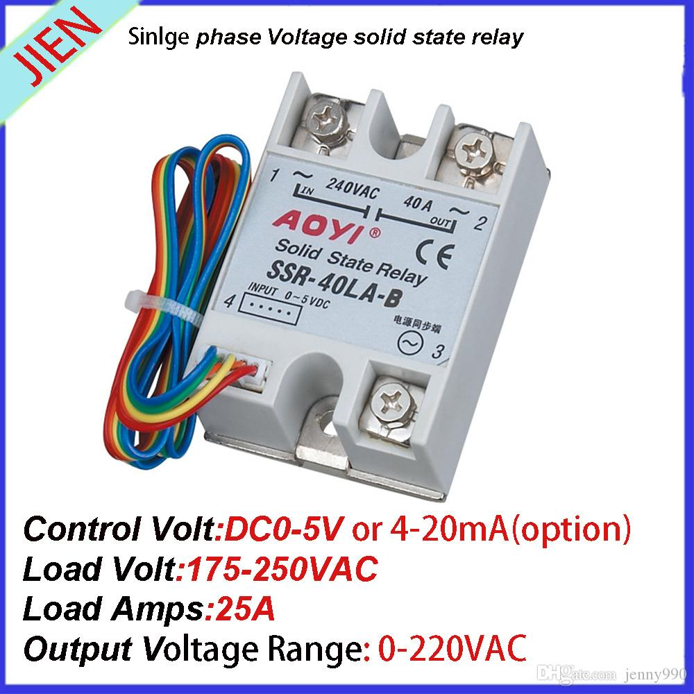 2019 Auto Voltage Adjust Ssr Scr 25la B From Jenny990 1307 Solid State Relay 220v Ac