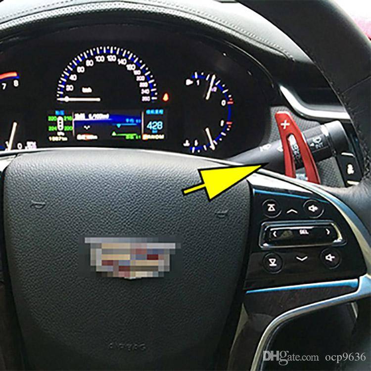 Brand New Alloy Add-On Steering Wheel Aluminum Shift Paddle Shifter Extension For Cadillac XTS