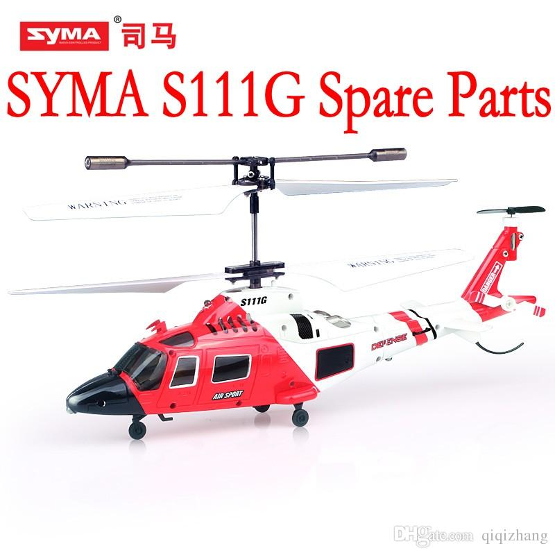 SYMA S111G Main Blades USB Cable Charger Motor Mini rc R/C Radio Control  Helicopter Heli Copter Boy Toys Spare Parts Access Accessories