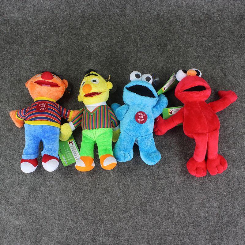 23 centimetri Sesame Street Elmo del biscotto Ernie Bert farciti della bambola della peluche i bambini Trasporto libero