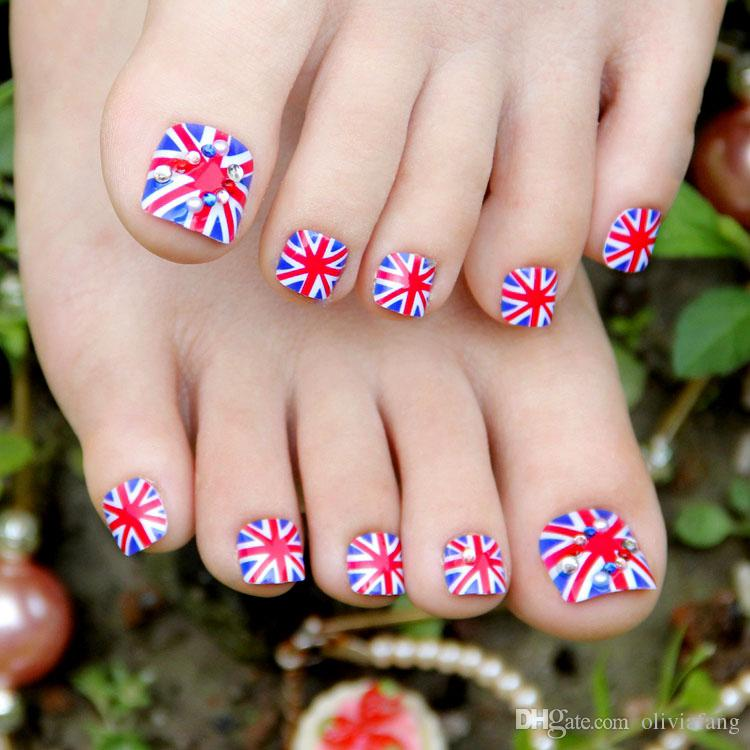 Summer Design Fake Nails Pre Design False Nail Tips Full