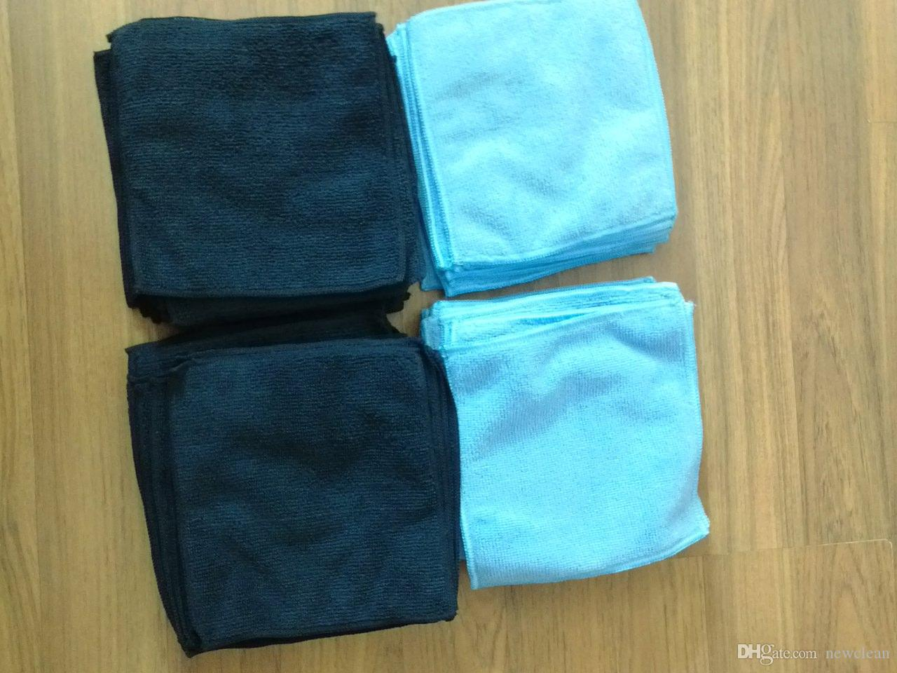 2018 Wholesale 15.2x15.2cm Microfiber Cleaning Wiping Rags Glass ...