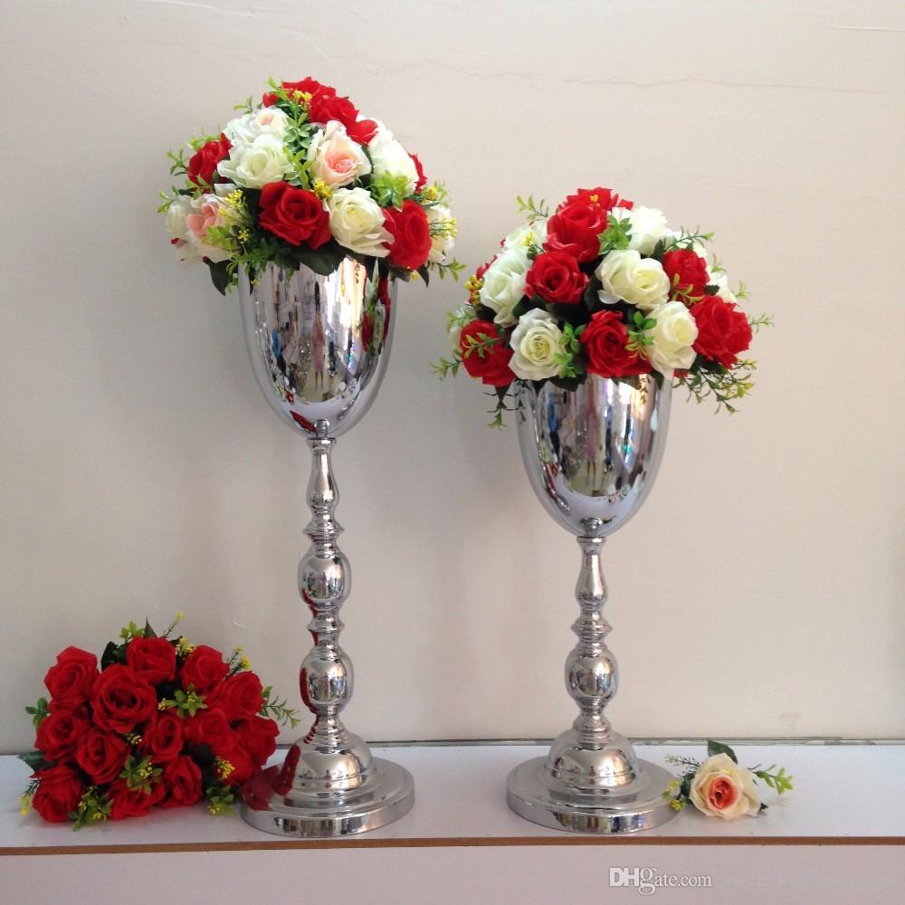 웨딩 테이블 중앙 장식 웨딩 플라워 꽃병 웨딩 장식 10 개 / 많은 웨딩 테이블 스탠드