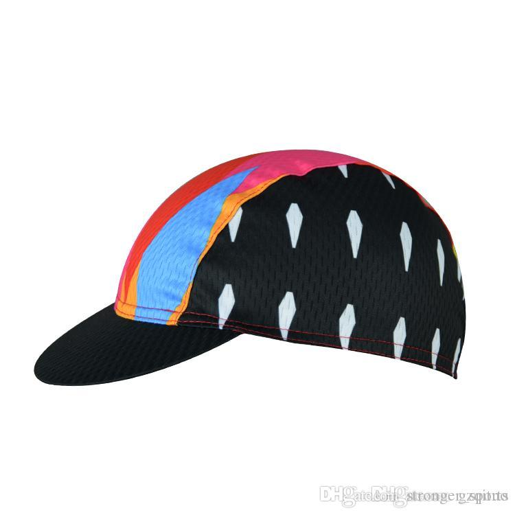 5fed13d9caa 2019 Aogda Colourful New Professional Team Cycling Bike Head Cap Hat Quick  Drying Bicycle Race Wear Men And Women Cycling Hat Cycling Caps From ...