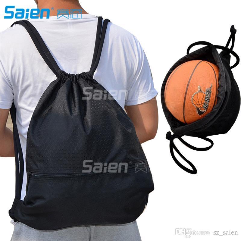 c7280847a91b Esvan proof Gymbag Large Drawstring Backpack Gymsack Sackpack For Sport  Traveling Basketball Yoga Running