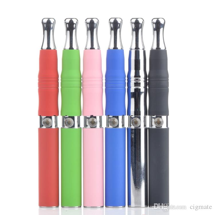 Skillet Atomizer Kit with Metal Drip tiped Grill wax Clearomizer Ego D Kit E Solid Vaporizer E Cigarette with EGO Carrying Zipper Case