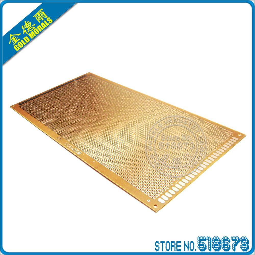 2018 13x25 Cm Single Side Tinned Prototype Pcb Universal Board About 5pcs Copperfibergl Ass Circuit Experiment Matrix 130250 Mm From Zhuozhangyang 1061