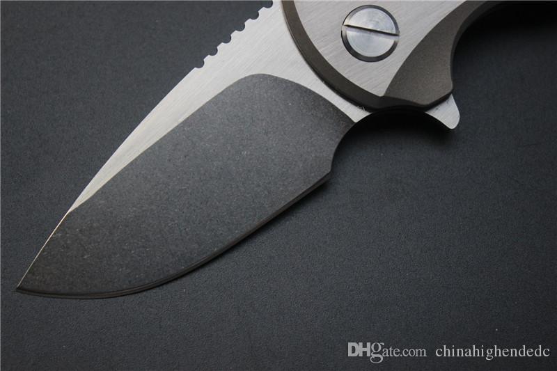 حرية الملاحة ، malyshev غنوم الطي سكين جيب سكين d2 الفولاذ الصلب بليد ti مقبض بقاء الصيد أداة مجانية