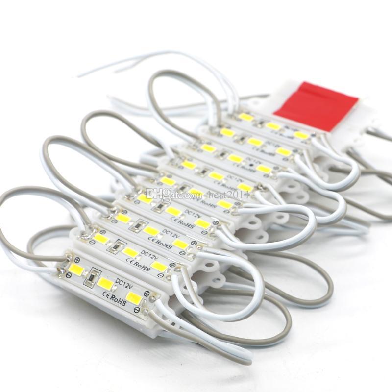Le module de SMD 5630 3 LED allumant le mini module de 39x10mm pour le signe DC12V imperméabilisent les modules lumineux superbes de SMD