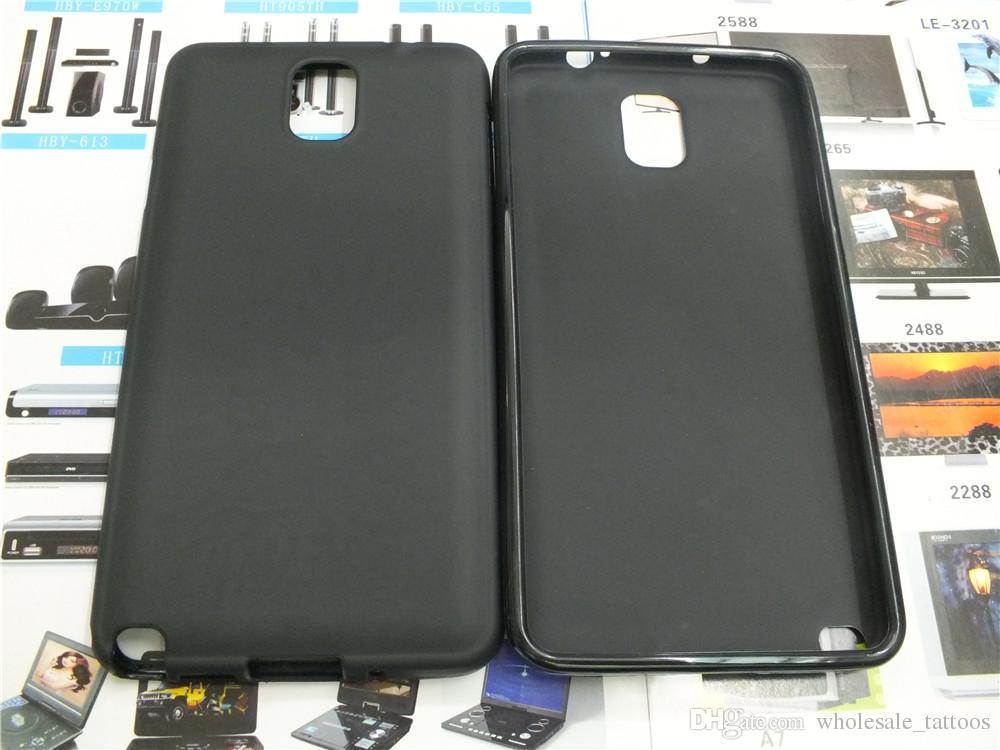 Custodia in TPU gel antiscivolo Samsung Galaxy Note 3 N9000 N9005 S9 i9600 G900F G900V G900A G900T G900T G900P Custodia morbida in silicone telefono