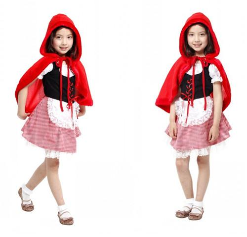 Halloween Cosplay Costume Children Play Dress Up Little Red Riding Hood Character Costumes Dress Baby Halloween Costumes Funny Halloween Costumes From ...  sc 1 st  DHgate.com & Halloween Cosplay Costume Children Play Dress Up Little Red Riding ...