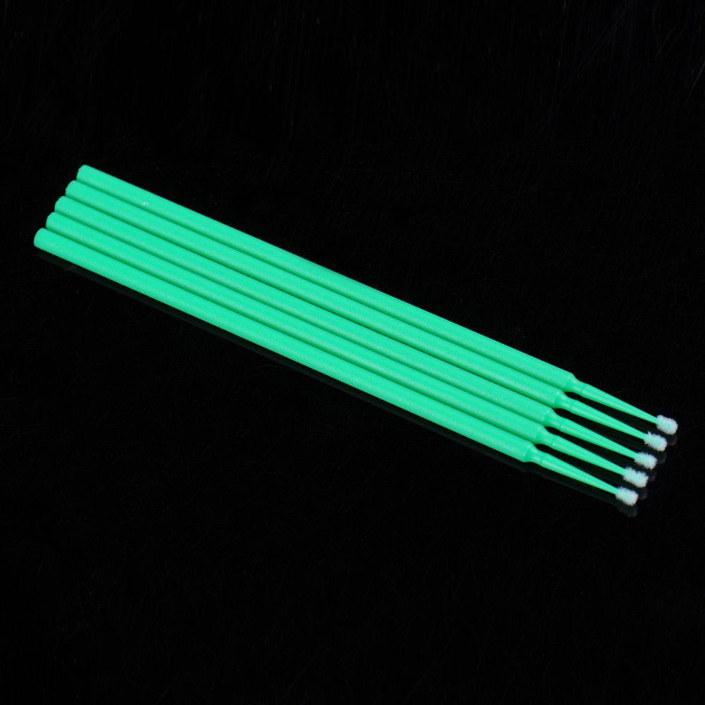 Microfibra a lunga durata monouso ciglia, applicatori individuali Pennello mascara make-up, non-linting arbitray, angolo di curvatura Trucco