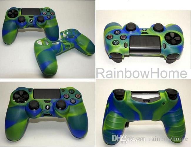 Mjukt silikongummi Skyddshylsa Hudskydd för PlayStation Dualshock 4 PS5 PS4 PS3 Xbox One 360 Controller Gamepad