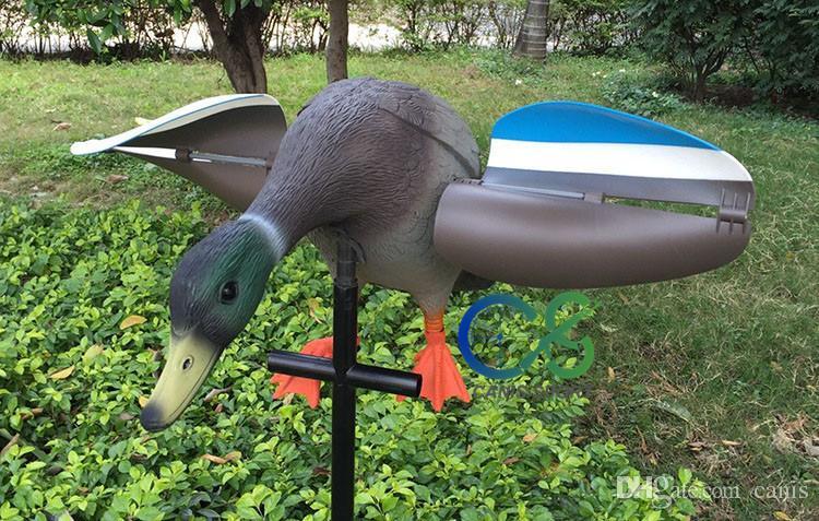 Neue Ankunft Jagdattrappe Außenansicht Wind Ente Für Jagdgebrauch Im Freien Garten Park Dekoration CL38-0006