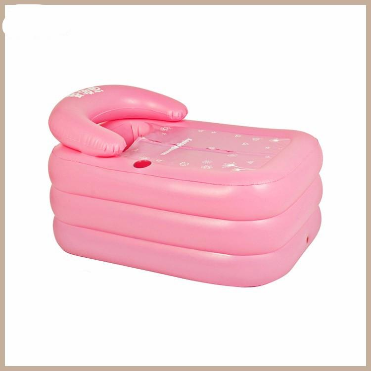 Portable Bath Adult Bathtub Plastic Inflatable Bath Tub Adults ...