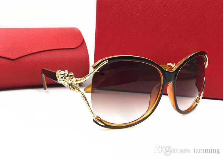 3ae528b94039 High Quality Famous Brand AAA Sunglasses Bling Style Butterfly Frame Fashion  Sunglasses Women Design Leopard Logo UV400 Lens With Red Box Native  Sunglasses ...
