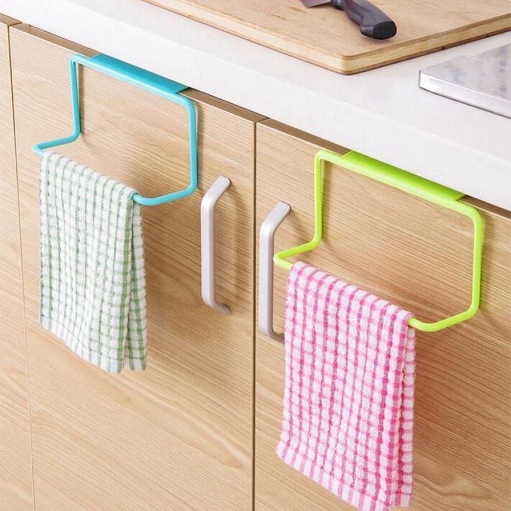 2018 New Portable Kitchen Cabinet Over Door Hanging Towel Rack  # Nuovo Muebles Cocina