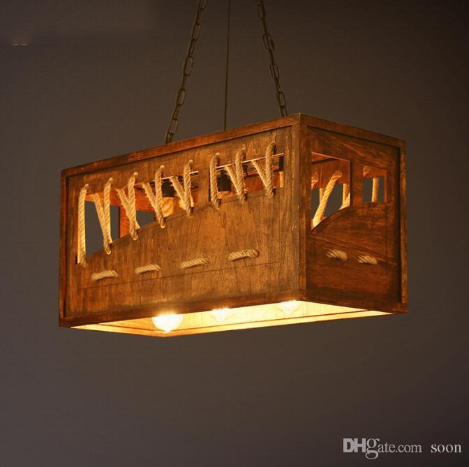 American Dinning Room Bar Lighting Fixture Vintage Retro Industrial ...