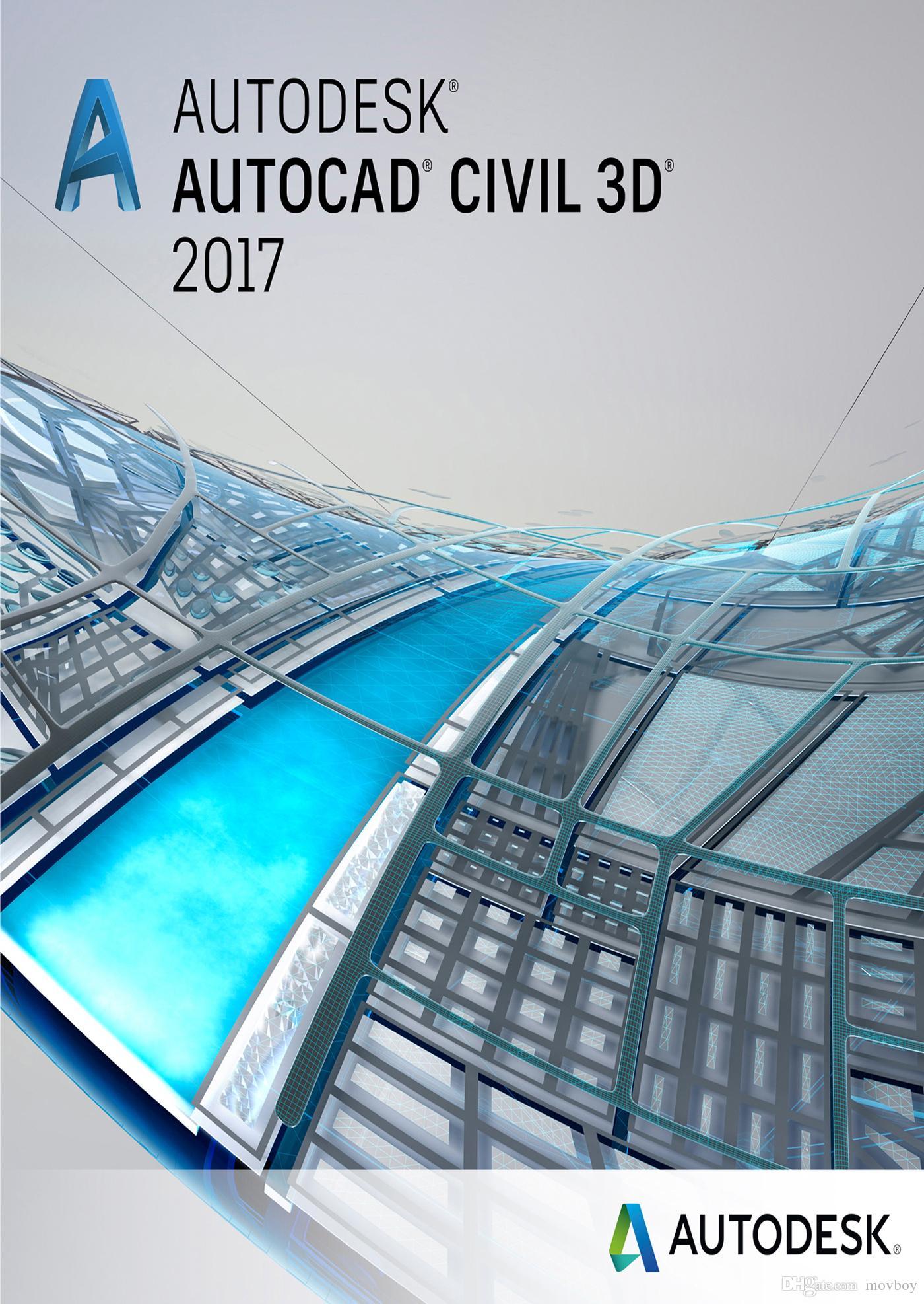 Buy Autodesk AutoCAD Civil 3D 2017 64 bit