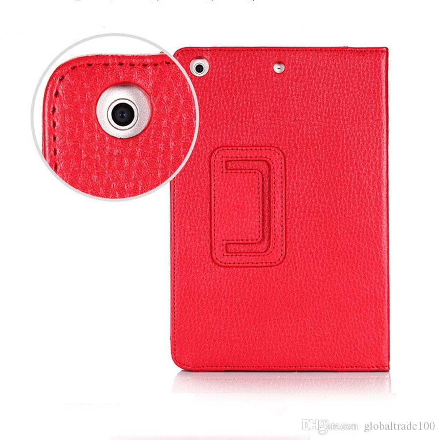 Para apple ipad mini 1 2 3 mini 4 case magnética auto wake up / sleep flip pu capa de couro com suporte inteligente stand