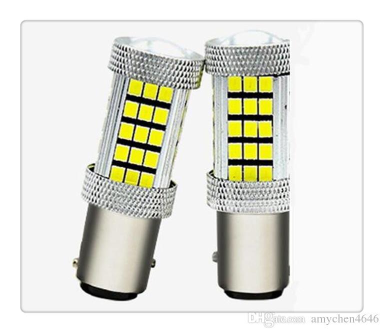 Yüksek Kaliteli 1156 P21W BA15S 33 LED 5630 5730 otomatik fren lambaları sis lambası ters ışık araba gündüz farı beyaz kırmızı sarı Araba stylin
