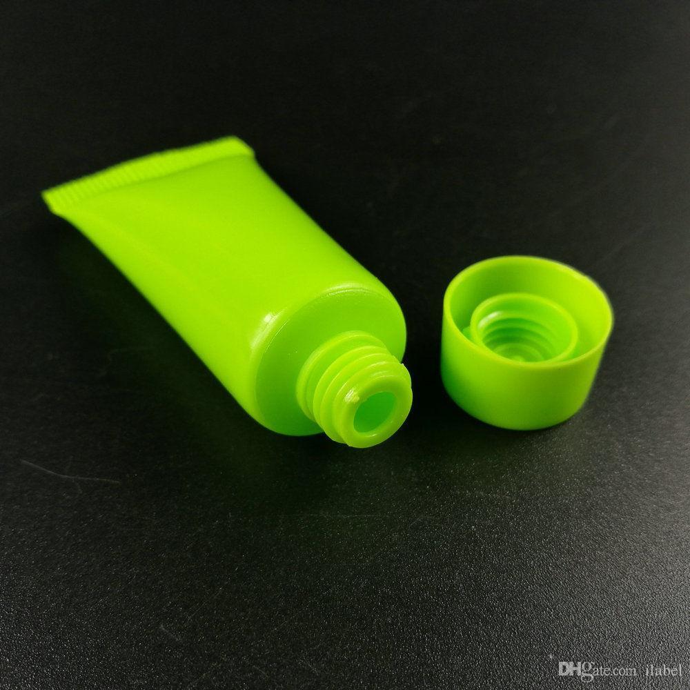100 ml di colore mutil bottiglie vuote Soft Tube Cosmetic Containers Cream Lotion 5 ml