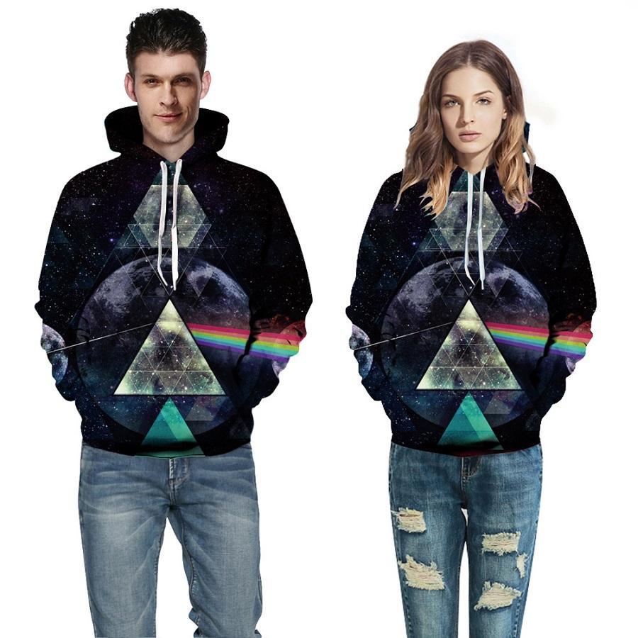 2017 New hot hoodies à capuche hommes / femmes, loisirs mode impression numérique automne / hiver Hoodies manteau usine de vêtement vend en gros