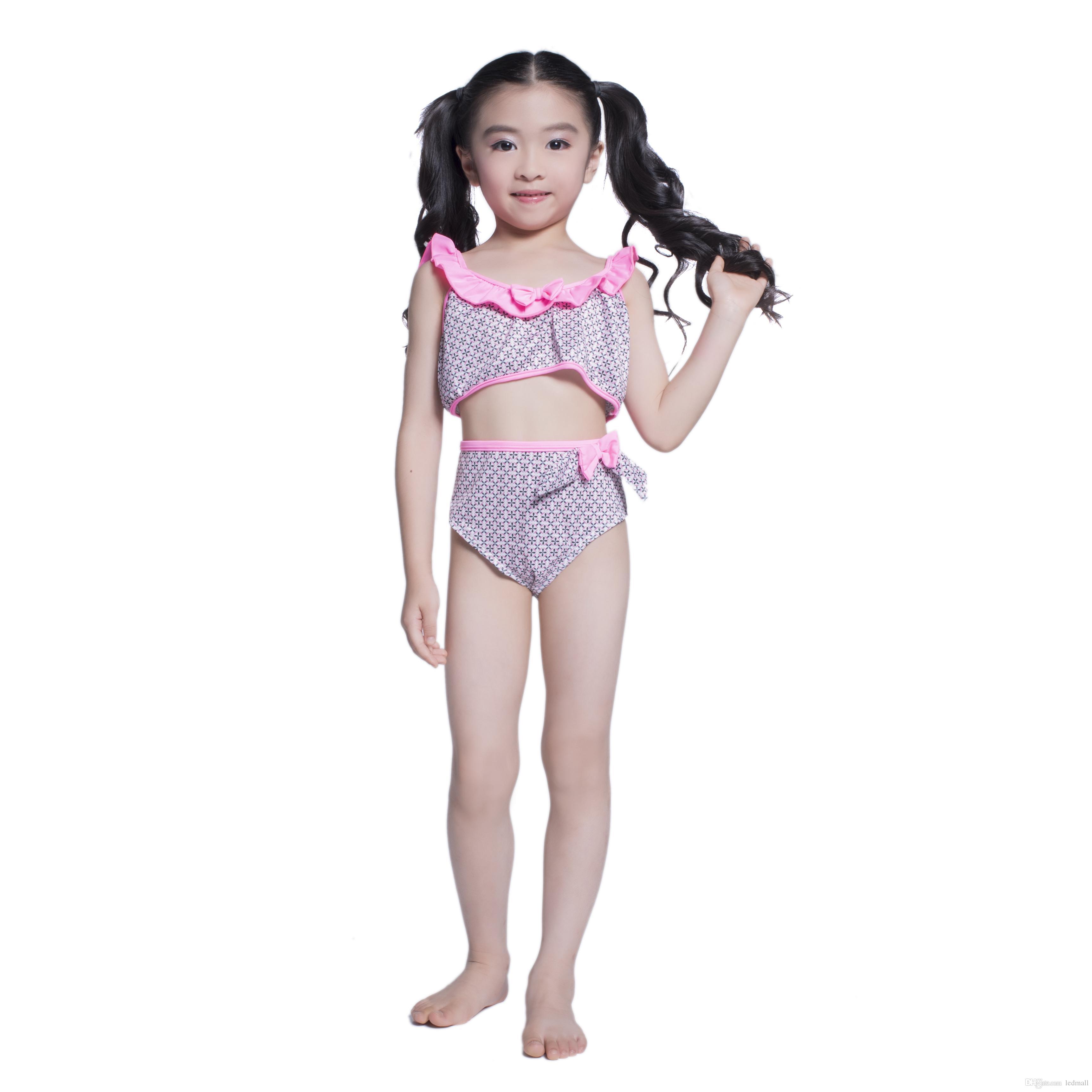 2018 Lovely Girls Swimwear Bikini Swimsuit Swimming Beach ...