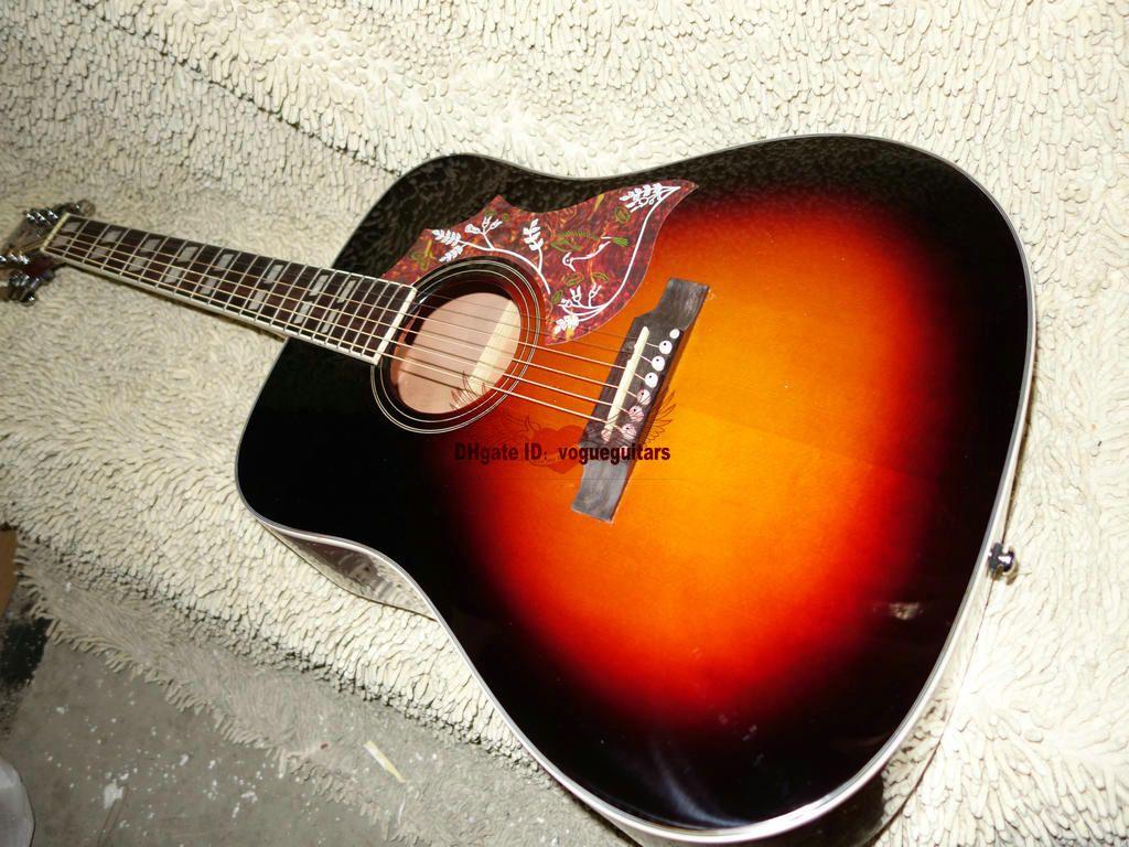 New Arrival Honey Burst Acoustic Guitar Best Musical instruments