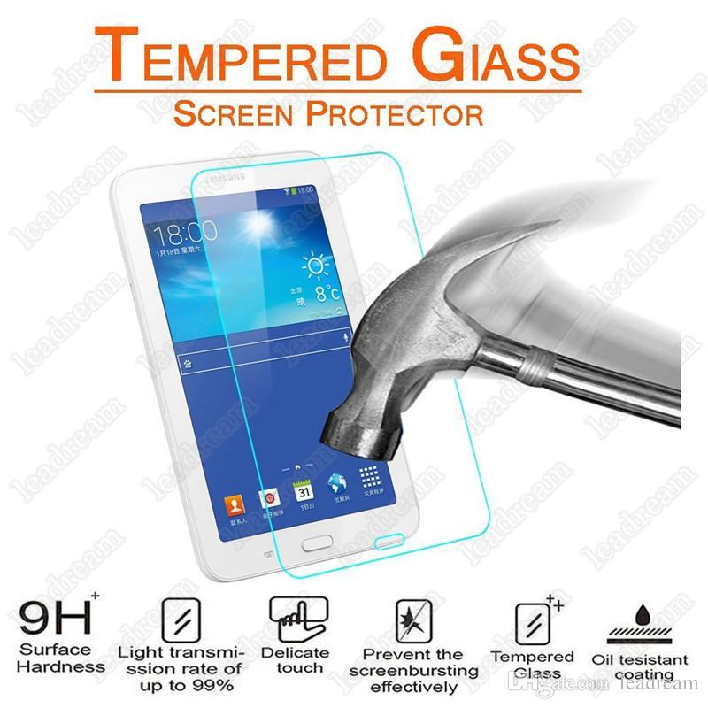 À Prova de Explosão 9 H 0.3mm Protetor de Tela de Vidro Temperado para Samsung Galaxy Tab 3 Lite 7.0 T110 T111 Nenhum Pacote
