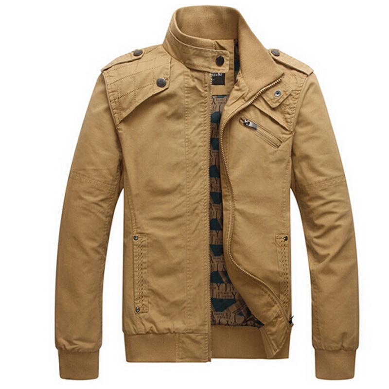 7da6d3b583e5 Winter Jacket Men`s Casual Jacket Cotton Stand Collar Coats Army Military  Outdoors Men S Male Clothes Overcoat Denim Jacket Wool Sale Mens Jackets  From ...