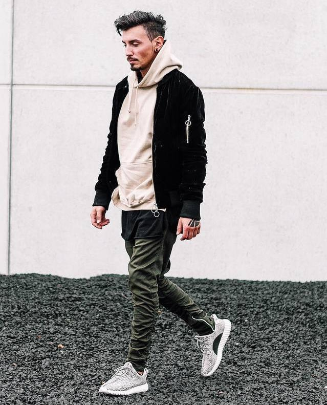 2018 Fashion Mens Jogger Pants 2016 Casual Skinny Zipper Botton Sweatpants Solid Hip Hop Sport ...