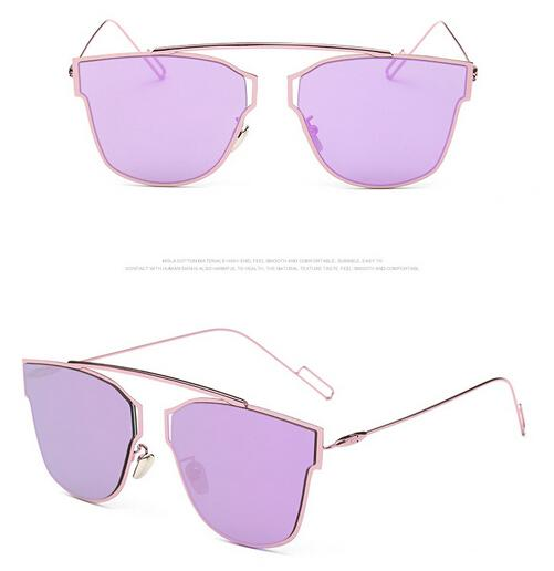MOQ=summer woman cat eye sunglasses Metal sun glasses Dazzle colour goggle ladies outdoor fashion adumbral beach free shpping