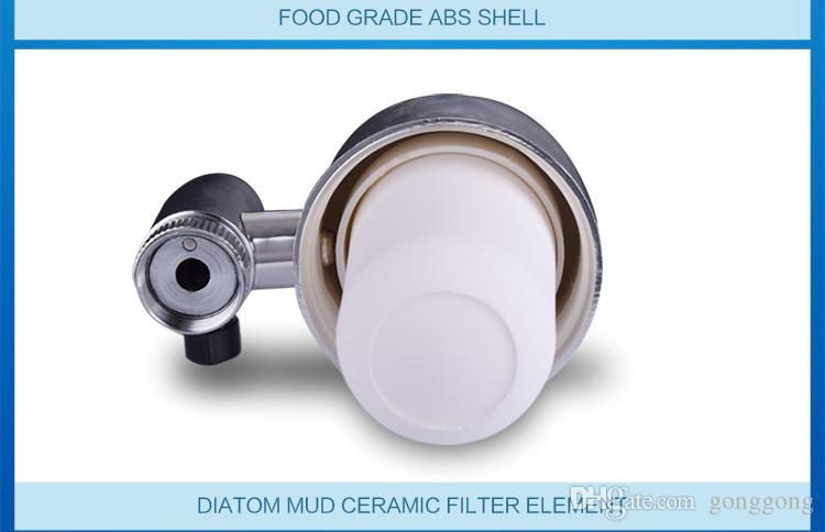 2017 новый удалить загрязнения воды щелочной воды ionizer бытовой фильтр для воды очиститель очистки крана кран очиститель