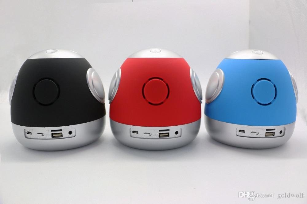 Mini Wireless Bluetooth Speaker NR-2012 Robot Sound Box Support TF Card USB FM Portable Music Loud Speakers