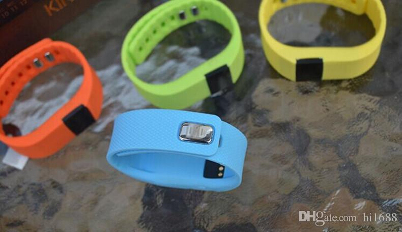 TW64 Bracelet Intelligent Bluetooth Bracelets Intelligents montre intelligente Étanche Passomètre Sommeil Tracker Fonction pour Android iOS Système OTH048