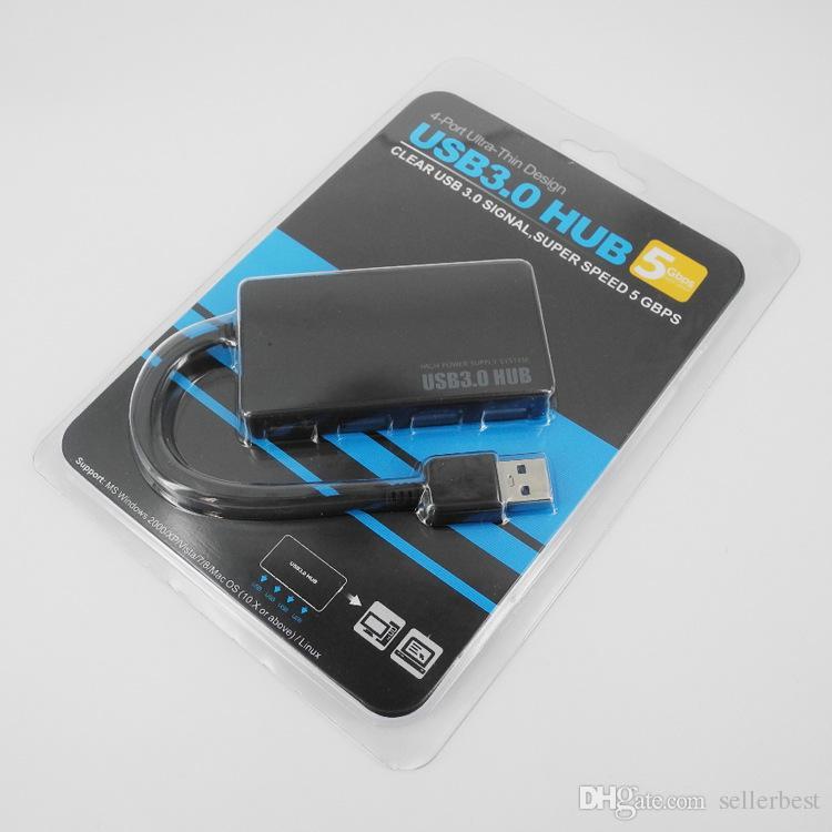 RXD-103U3 Hub USB 3.0 a 3 porte ad alta velocità Supporto 5Gbps 1 TB HDD Compatto portatile PC Notebook Mac Desktop portatile