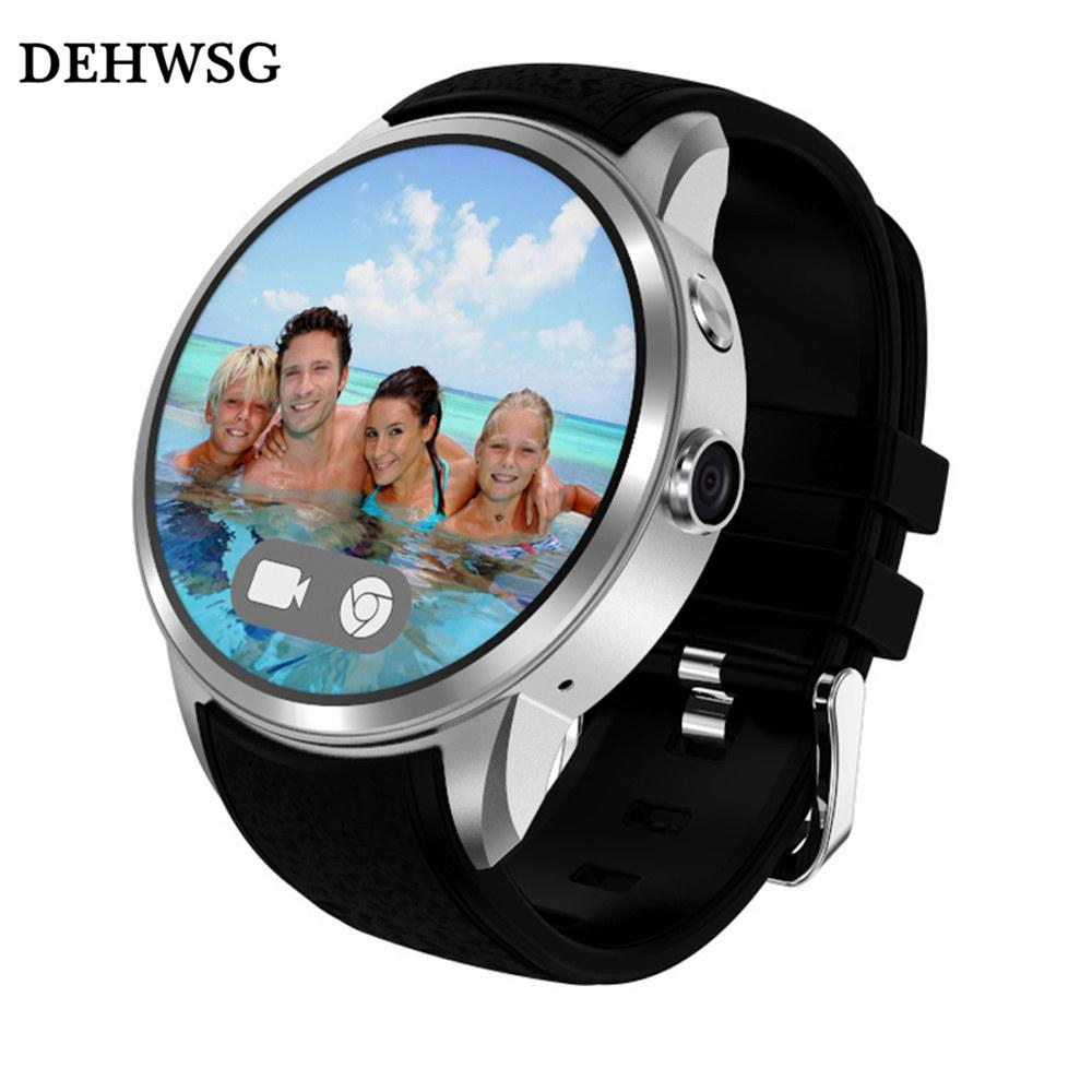e1b8bd9ed Wholesale- DEHWSG X200 SmartWatch Android phone MTK6580 Quad Core 8GB+512MB  smart watch Heart Rate Monitor With WIFI Camera 3G VS KW88 LES1